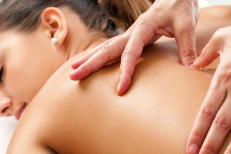 Trigger Point Bodywork Technique and Back Ocean Front Massage